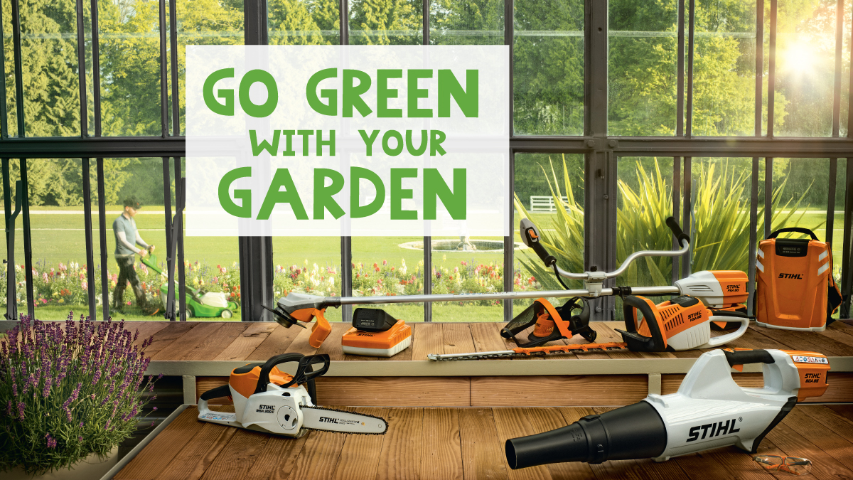 Go Green with your Garden