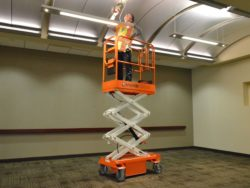 Access and Support Snorkel Scissor Lift