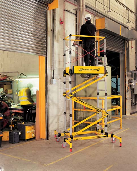 Folding Access Tower