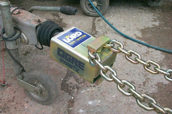 TRAILER TOWBAR LOCK