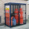 GAS SECURITY CAGE
