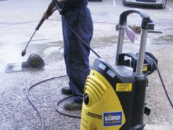 ELECTRIC PRESSURE WASHER - COLD WATER