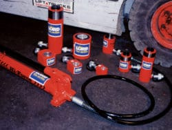 HYDRAULIC CYLINDERS AND PAD JACKS