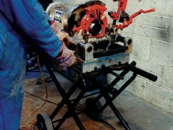 "PIPE THREADING MACHINE (1/8"" - 3"")"