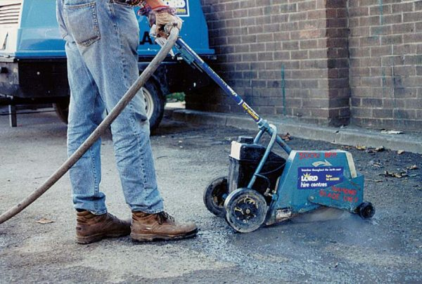 350MM (14INS) AIR DRIVEN FLOOR SAW