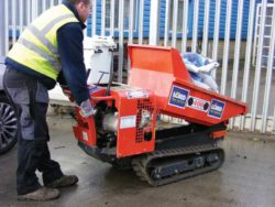 TRACKED POWER BARROW (PETROL)