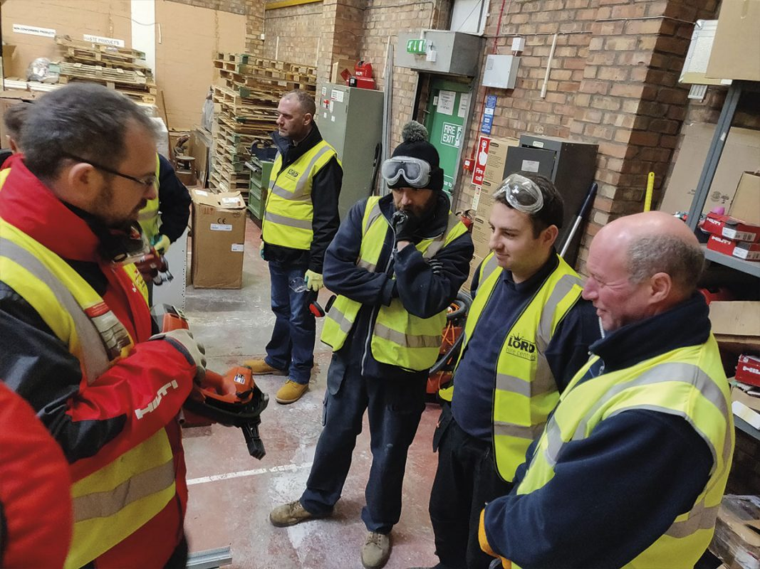 Hilti Hands-On Training